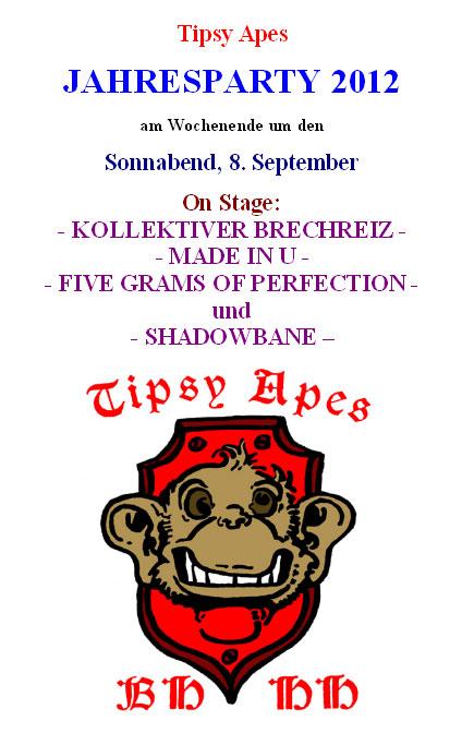 Tipsy Apes